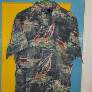 Polo Ralph Lauren vintage sailing shirt sleeve